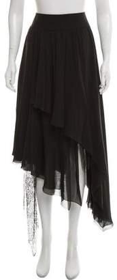 Armani Collezioni Silk Maxi Skirt w/ Tags