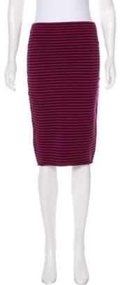 A.L.C. Striped Pencil Skirt