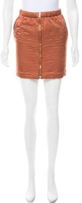 See by Chloe Quilted Mini Skirt