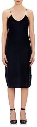 Nili Lotan Women's Velvet Slipdress