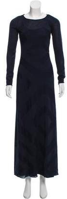 Calypso Long sleeve Maxi Dress