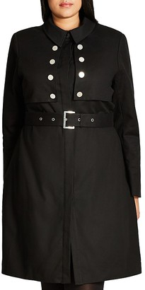 City Chic Liaison Trench Coat $149 thestylecure.com