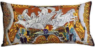 One Kings Lane Vintage HermAs Annie Faivre Silk Scarf Pillow
