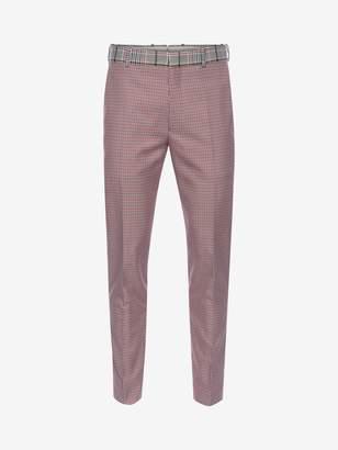 Alexander McQueen Dogtooth Pants