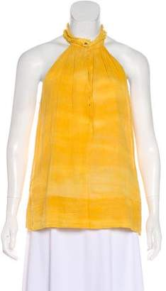 Raquel Allegra Sleeveless Tie-Dye Top