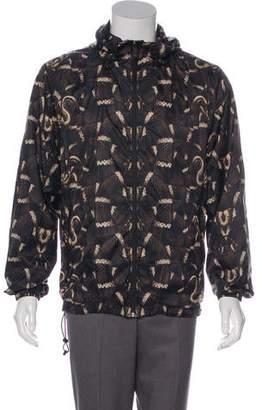 Marcelo Burlon County of Milan Animal Print Hooded Jacket