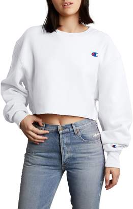 Champion Crop Reverse Weave Sweatshirt