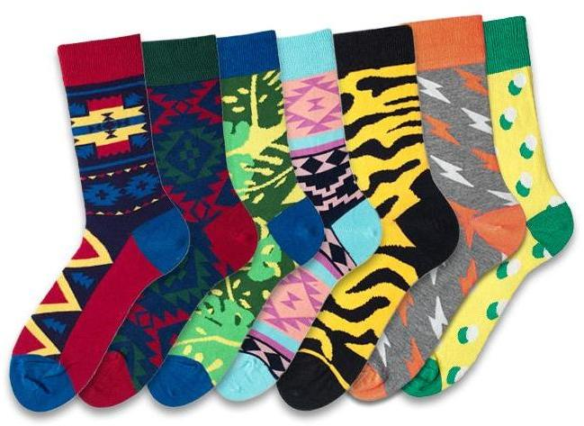 Mexico 7 Pairs Socks Set for Men