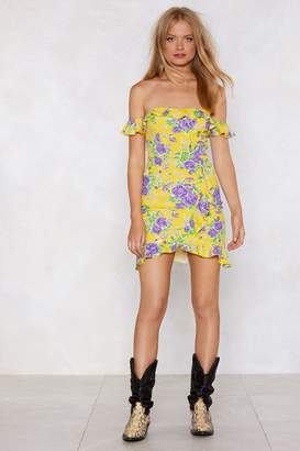 Nasty Gal How You've Grown Floral Dress