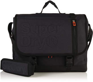 Superdry Embossed Messenger Bag