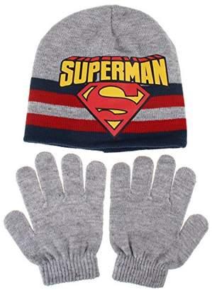9603c5ddda DC Comics Boy s Superman Stripe Scarf
