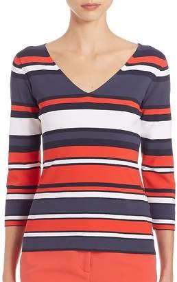 Peserico Women's Horizontal Stripe Sweater