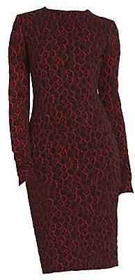Givenchy Women's Leopard Cotton Dress