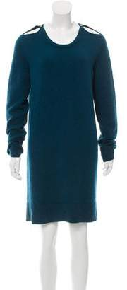 Lanvin Wool Cold-Shoulder Dress w/ Tags