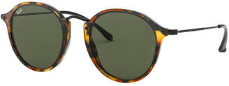 Ray-Ban Round Fleck Sunglasses, RB2447
