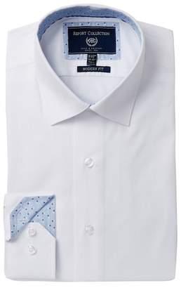 Report Collection Modern Fit Tonal Dress Shirt