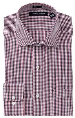 Tommy Hilfiger Regular Fit Poplin Dress Shirt