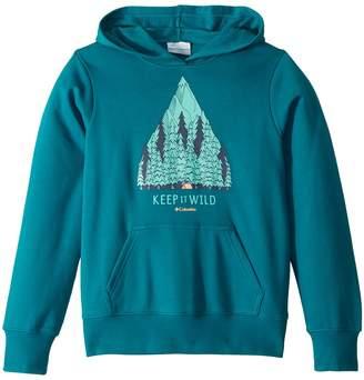 Columbia Kids Take A Hiketm Hoodie Girl's Sweatshirt