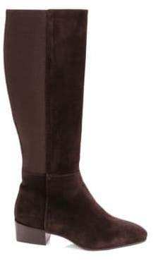 Aquatalia Finola Suede Knee-High Boots