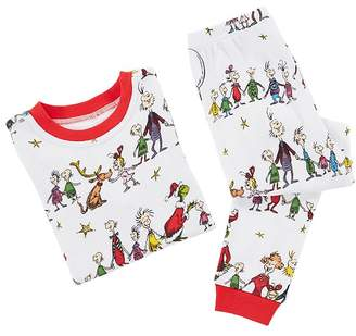Pottery Barn Kids Grinch Cotton Tight Fit Pajama, 2T