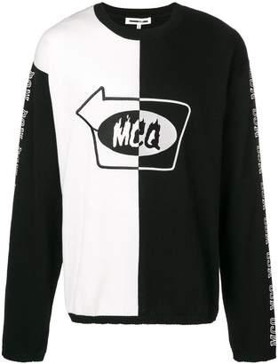 McQ (マックキュー) - McQ Alexander McQueen カラーブロック スウェットシャツ
