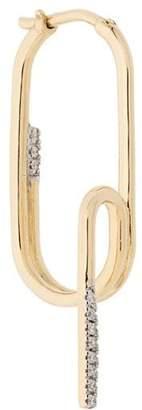 Maria Black Abyss diamond earring