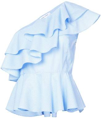 Prabal Gurung one-shoulder frill blouse