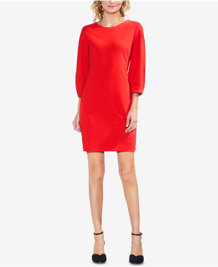Vince Camuto Bubble-Sleeve Dress