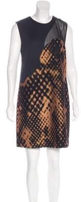 3.1 Phillip Lim Abstract Print Shift Dress