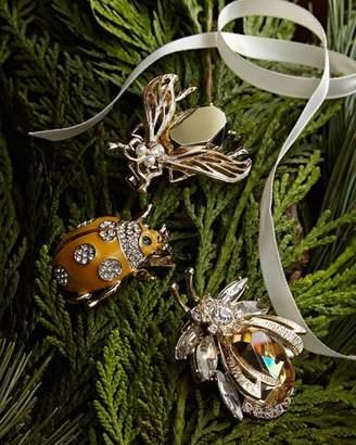 Joanna Buchanan Enamel Bug Clip Set, Gold
