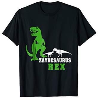 Zaydesaurus T shirt T rex Zayde Saurus Dinosaur Men Dad
