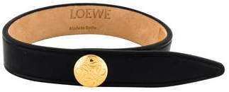 Loewe Leather Wrap Bracelet
