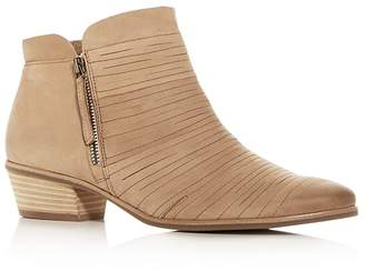Paul Green Women's Shasta Sliced Nubuck Leather Mid Heel Boots
