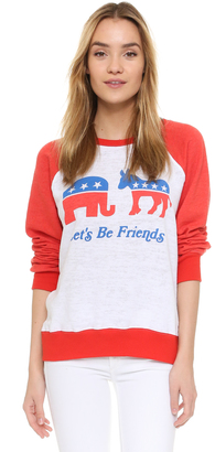 Wildfox Friendship Sweatshirt $108 thestylecure.com