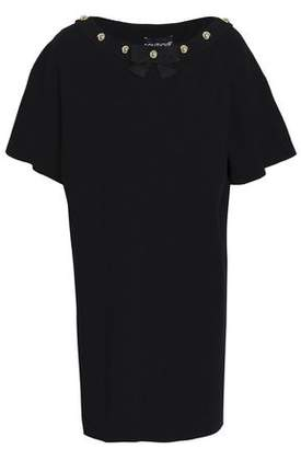 Moschino Studded Knitted Mini Dress