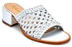 Matisse Ditsy Leather Slides