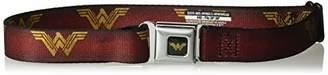 Buckle-Down Men's Seatbelt Belt Wonder Woman Kids