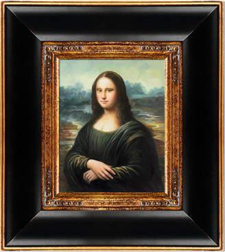 Leonardo Overstock Art Mona Lisa by Da Vinci (Framed Canvas)