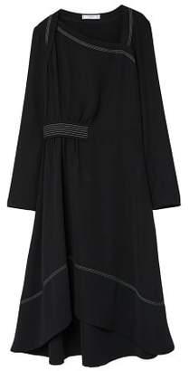 MANGO Contrast seam dress