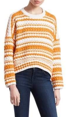 Maje Modeste Knit Striped Sweater
