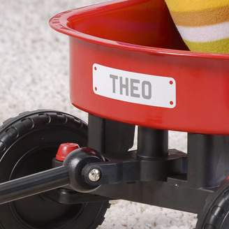 When I Was a Kid Personalised Car Number Plate For Childs Toy