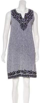 Roberta Roller Rabbit Embroidered Sleeveless Dress