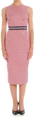P.A.R.O.S.H. Checkered Sleeveless Dress