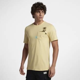 Hurley Premium Flamingo Pocket Men's T-Shirt