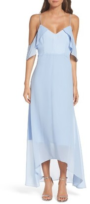 Women's True Decadence By Glamorous Cold Shoulder Maxi Dress $85 thestylecure.com