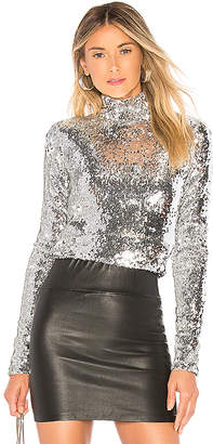 Milly Sequins Turtleneck