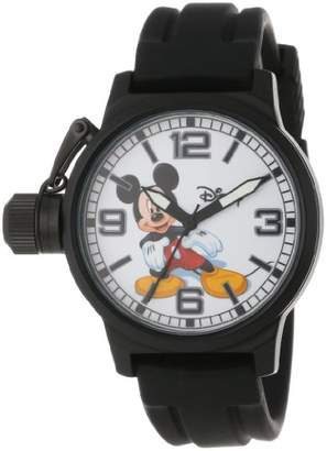 EWatchFactory Disney Men's W000592 Mickey Mouse Crown Protector Watch