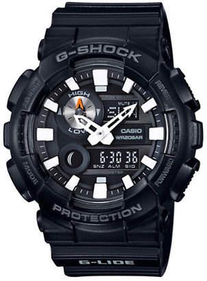 Casio G-Lide G-Shock Analog Resin Strap Watch