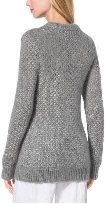 Michael Kors Seedstich Mohair and Silk Sweater