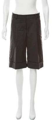 Robert Rodriguez High-Rise Knee-Length Shorts